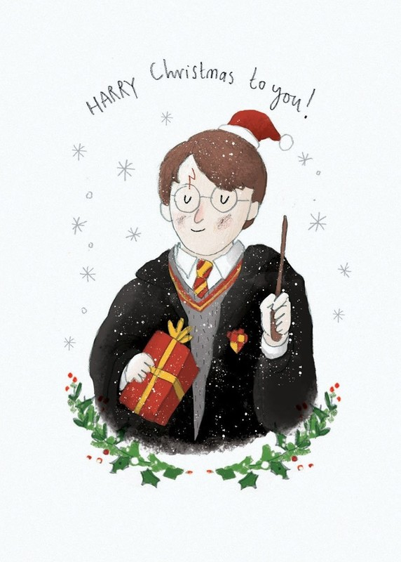 Oh Deer: Christmas Card - Harry Christmas to You