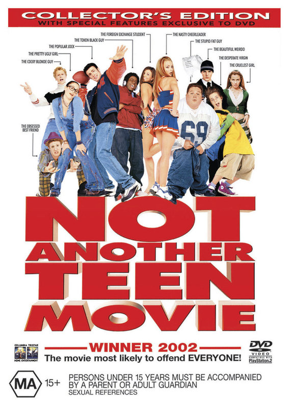 Not Another Teen Movie on DVD