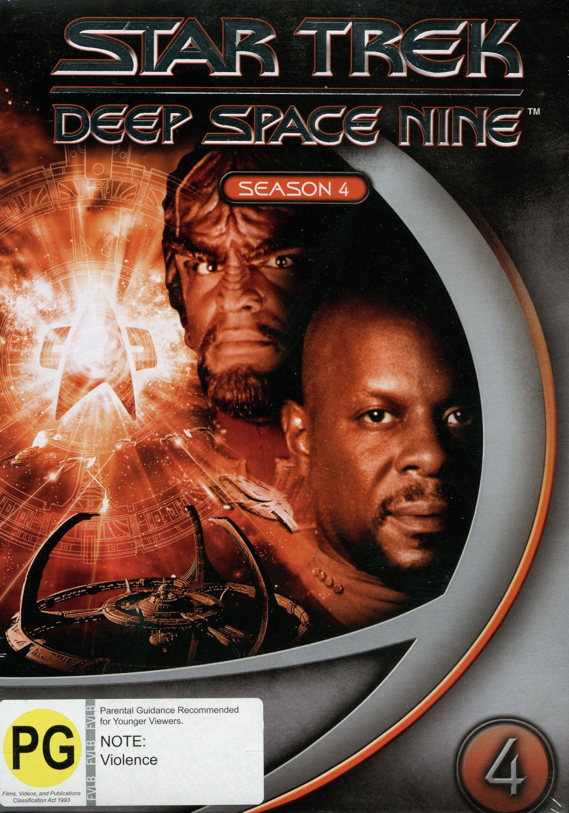 Star Trek: Deep Space Nine - Season 4 on DVD image