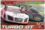 Scalextric Micro Turbo GT 1/64 Slot Cars Set