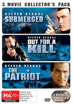 Submerged / Out For A Kill / Patriot (1998) - 3 Movie Collector's Pack (3 Disc Set) on DVD