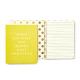 Kate Spade Spiral Notebook (Limoncello)