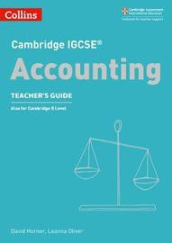 Cambridge IGCSE (R) Accounting Teacher's Guide by David Horner