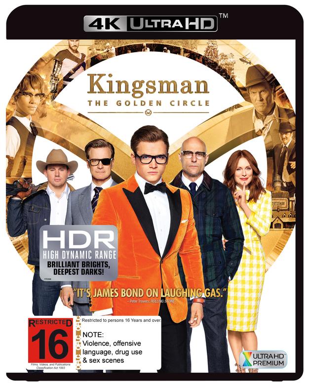Kingsman: The Golden Circle on UHD Blu-ray