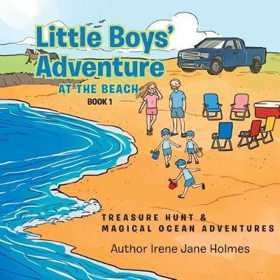 Little Boys' Adventure at the Beach by Irene Jane Holmes image