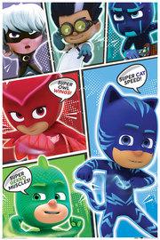 Pj Masks Comic Maxi Poster (820)