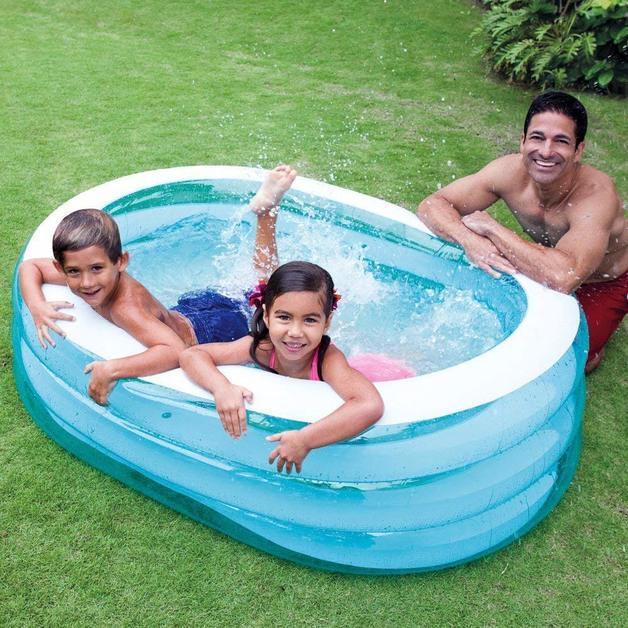 """Intex: My Sea Friends - Oval Fun Pool (64"""" x 42"""")"""