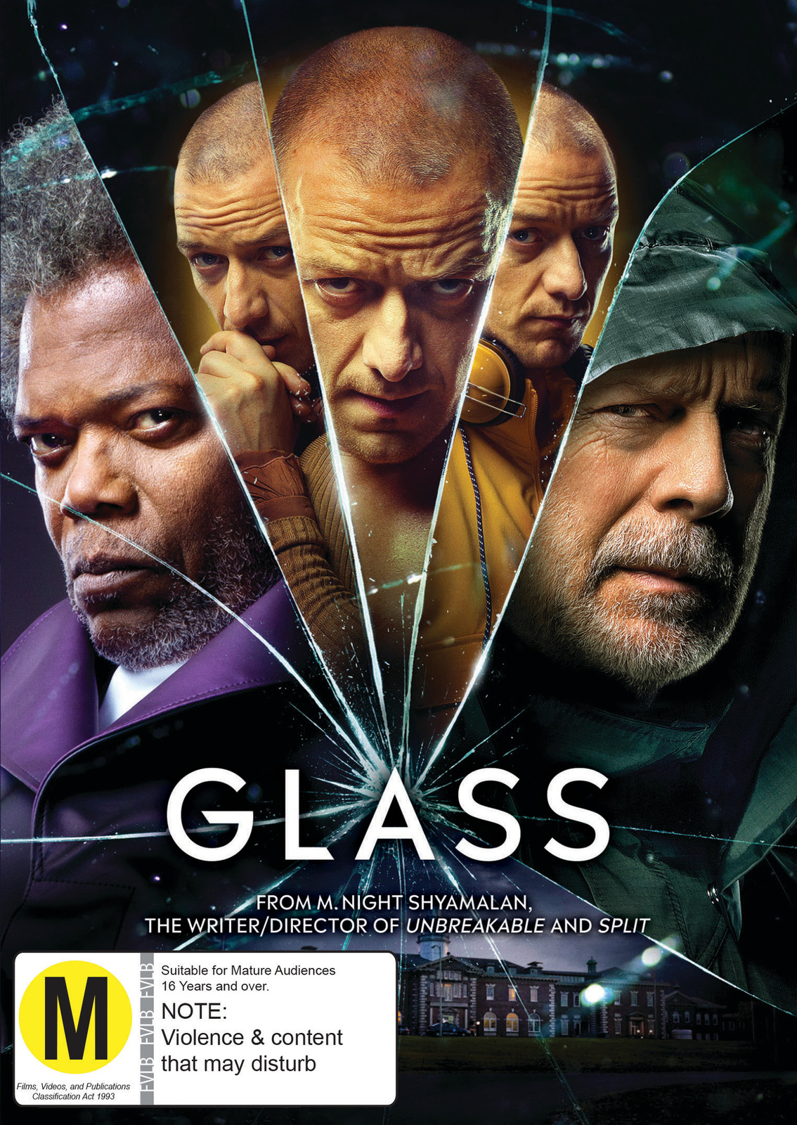 Glass on DVD image