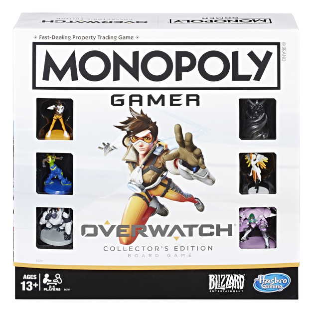 Monopoly: Gamer - Overwatch Edition