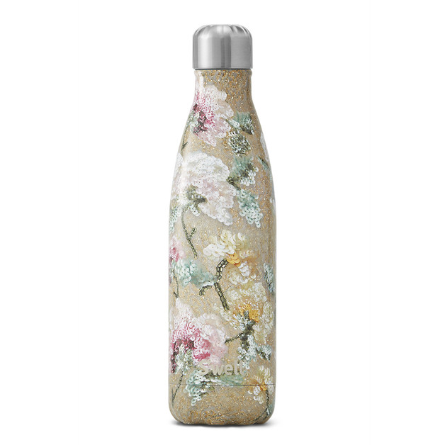 S'Well: Sequin Collection Insulated Bottle - Vintage Rose (500ml)