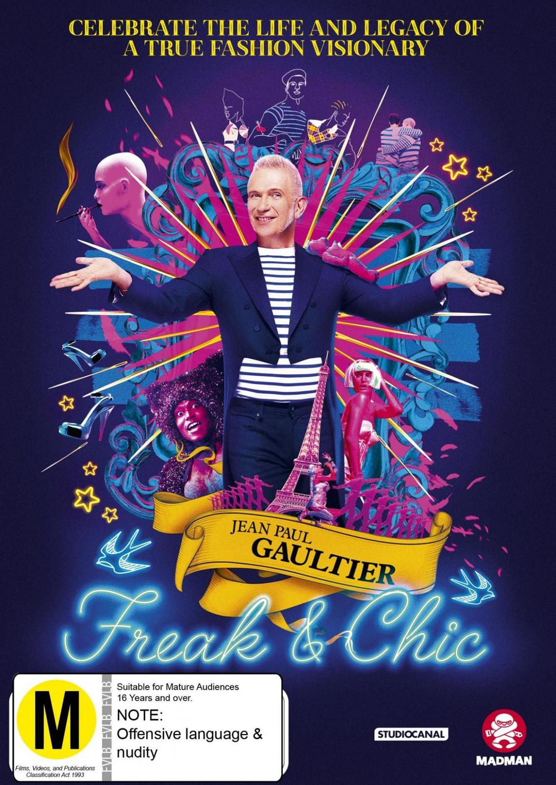 Jean Paul Gaultier: Freak And Chic on DVD image