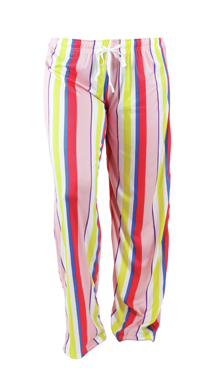 Hello Mello: Strawberry Mimosa Lounge Pants - S-M