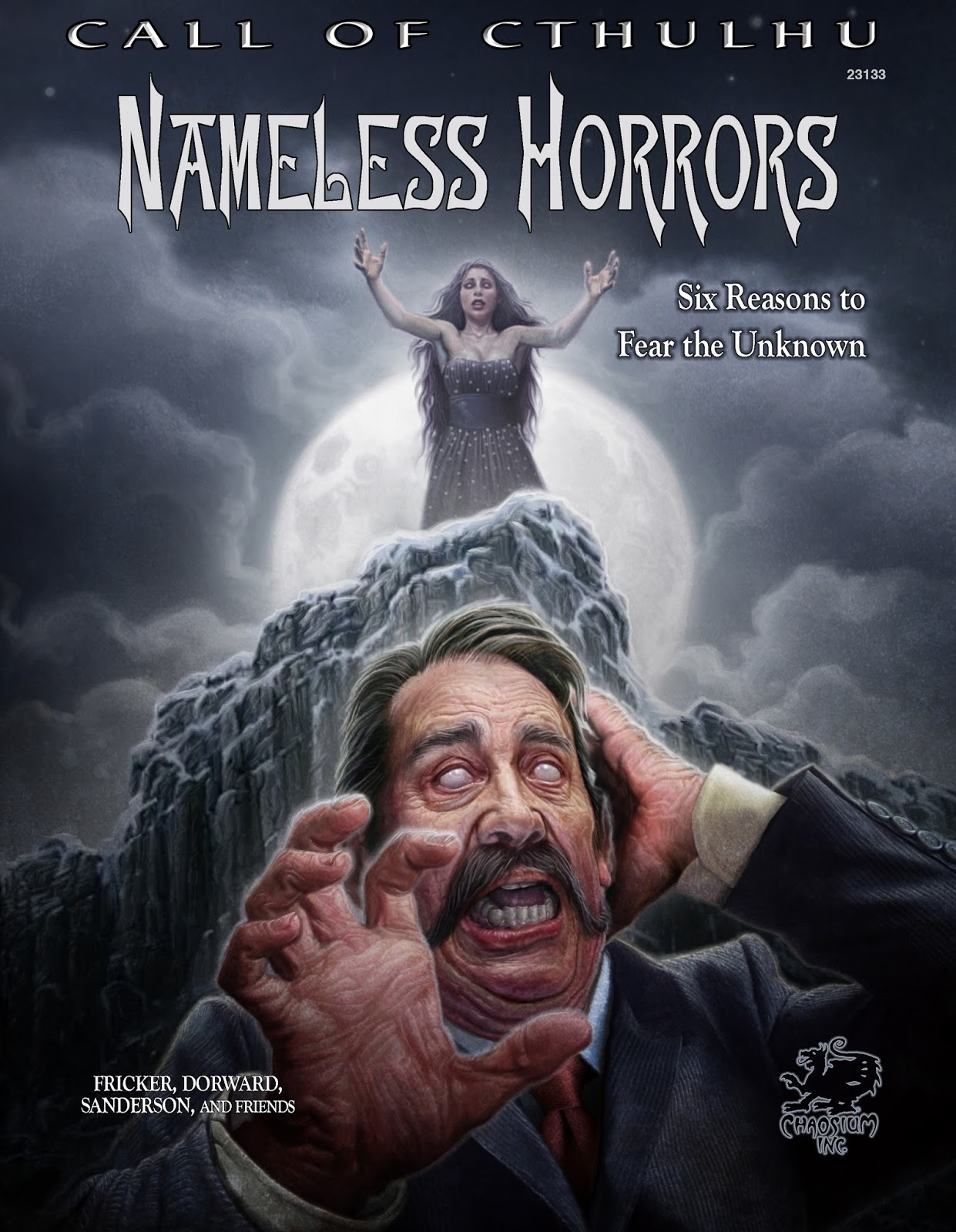 Call of Cthulhu: Nameless Horrors by Scott Dorward image
