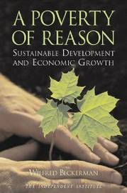A Poverty of Reason by Wilfred Beckerman image