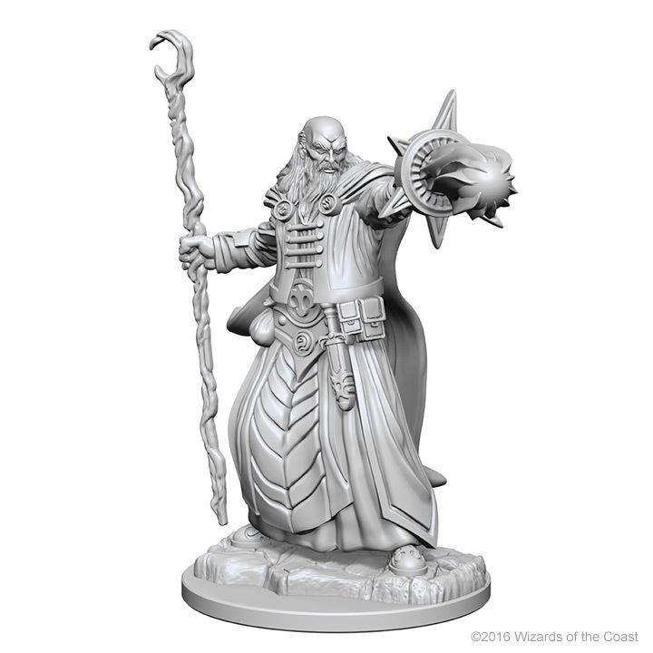 D&D Nolzur's Marvelous: Unpainted Minis - Human Male Wizard image