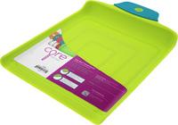 Core Home: Grip Strip Funnel Cutting Board - Lime/Teal (Medium)