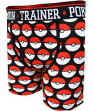 Pokemon: Pokeball All Over Print Boxer Briefs (XL)