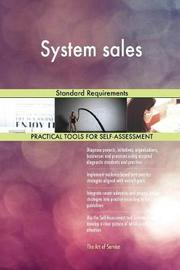 System Sales Standard Requirements by Gerardus Blokdyk image