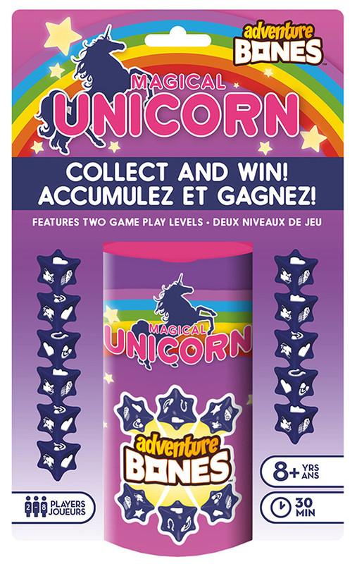 Magical Unicorn: Adventure Bones - Dice Game