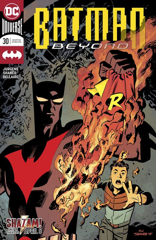 Batman Beyond - #30 (Cover A) by Dan Jurgens