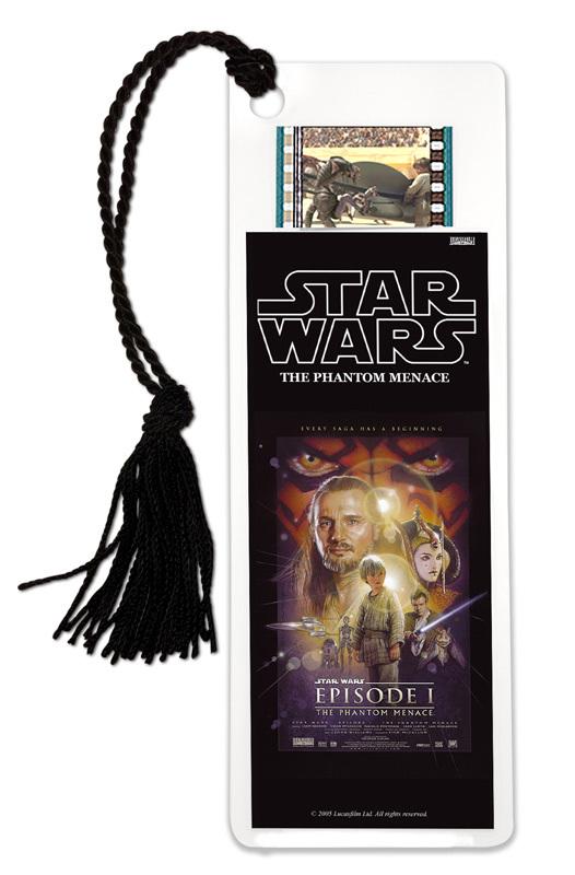 FilmCells: Film Cell Bookmark - Star Wars I (The Phantom Menace)