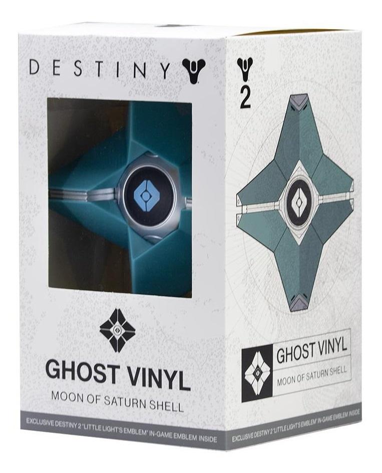 Destiny: Ghost Vinyl Figure - Moon of Saturn Shell image