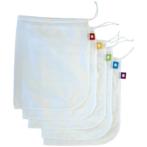 Mesh Produce Bags - Set of 5