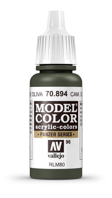 Vallejo Model Colour Camo Olive Green 17ml