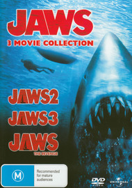 Jaws - 3 Movie Collection (Jaws 2 / Jaws 3 / Jaws: The Revenge) (3 Disc Set) on DVD