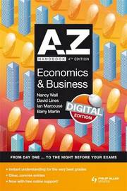 A-Z Economics and Business Handbook by Nancy Wall image