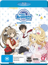 Amagi Brilliant Park - Complete Series on Blu-ray image