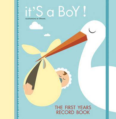 It's a Boy!: The First Year Record Book image