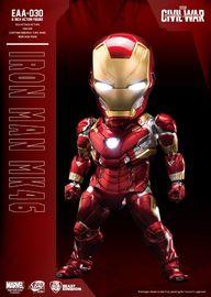Marvel - Iron Man Mark 46 (Civil War) - Egg Attack Action Figure