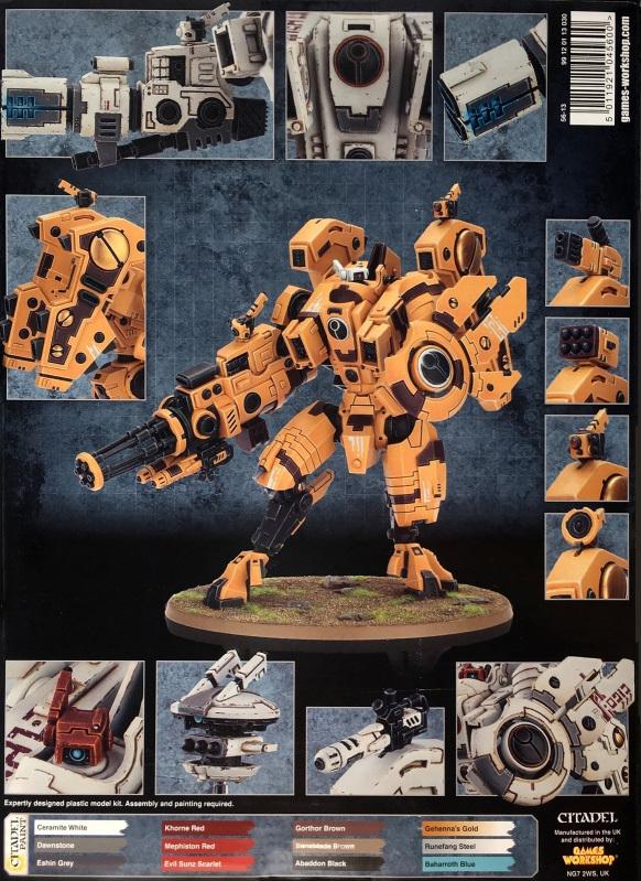 Warhammer 40,000 Tau Empire - XV104 Riptide Battlesuit image