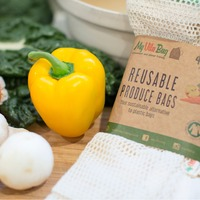 Small 4-Pack Reusable Produce Bags