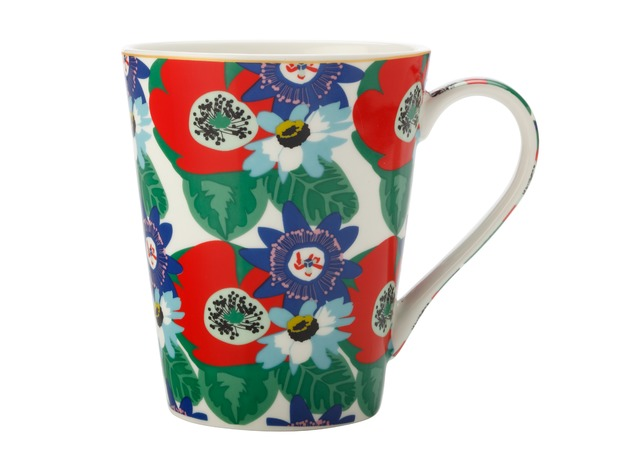 Maxwell & Williams: Teas & C's Glastonbury Mug - Passion Vine White (360ml)