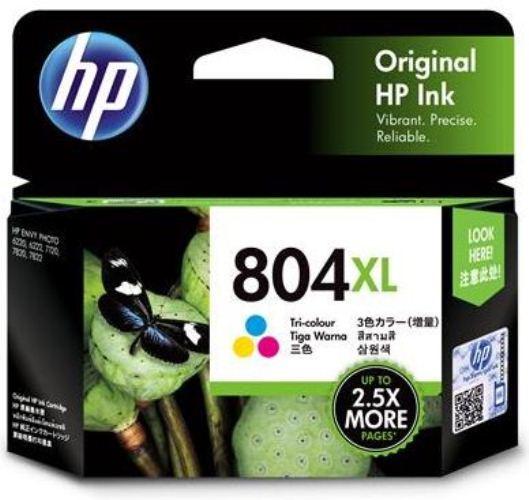 HP 804XL Tri-Colour High Yield Ink Cartridge