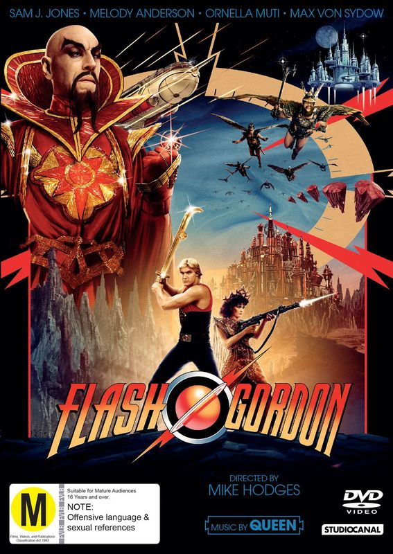Classics Remastered: Flash Gordon (1980) on DVD