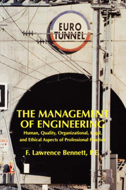 Management of Engineering by F.Lawrence Bennett image