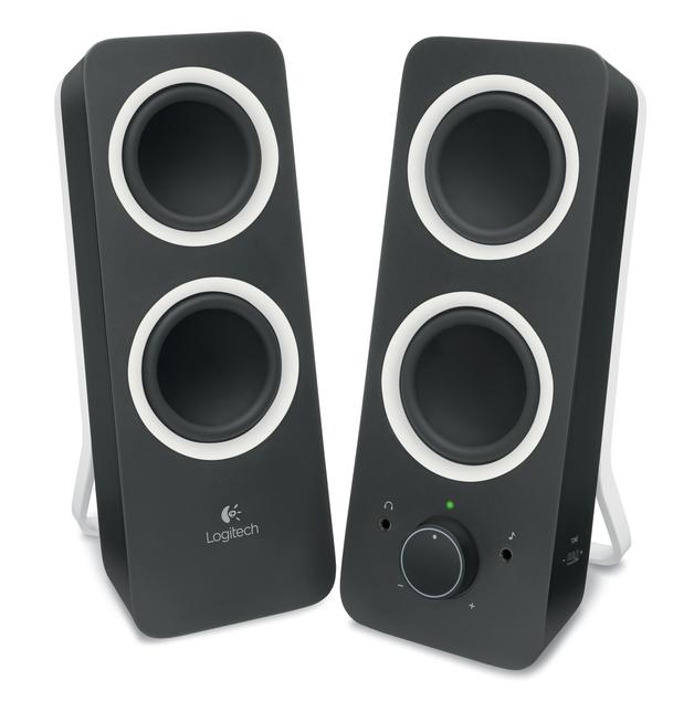 Logitech Z200 Multimedia Speakers (Midnight Black)