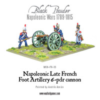 Napoleonic Wars: Late French 6-pdr Cannon