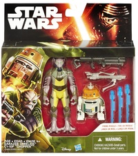 "Star Wars: 3.75"" Garazeb Orrelios & C110p Chopper Figure 2-Pack"