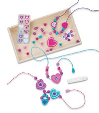 Melissa & Doug: Heart Bead Set