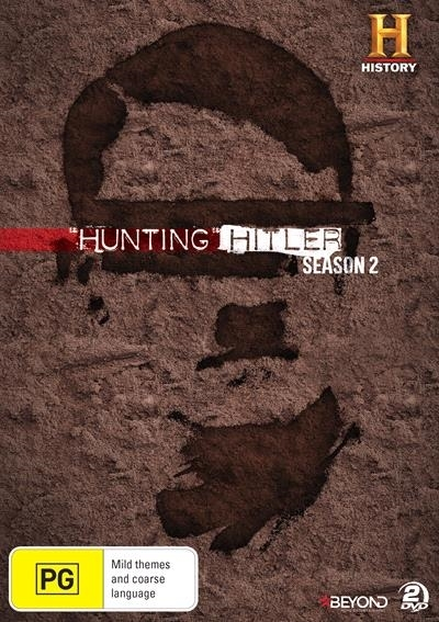 Hunting Hitler - Season 2 on DVD image