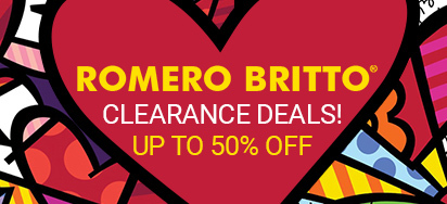 Romero Britto Clearance Deals!