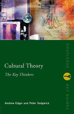 Cultural Theory: The Key Thinkers image