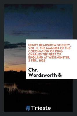 Henry Bradshow Society, Vol. II by Chr Wordsworth image