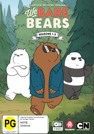 We Bare Bears - Seasons 1- 3 on DVD