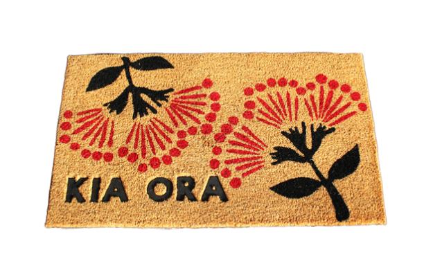 Moana Road: Doormat - Kia Ora Pohutukawa