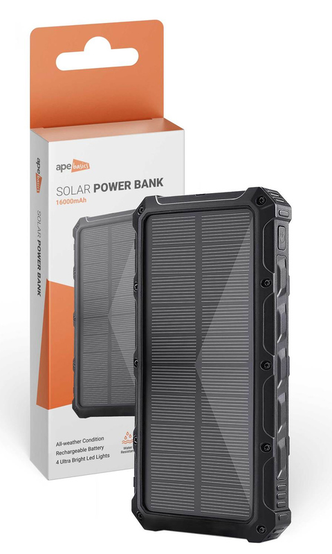 Ape Basics: 16,000mAh Solar Power Bank